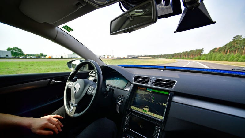 Faster Rollout of Self-Driving Cars Would Save Lives, Study Says
