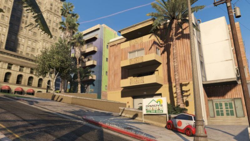 "Grand Theft Auto Online's neighborhoods are defined by those who ""live"" in them"