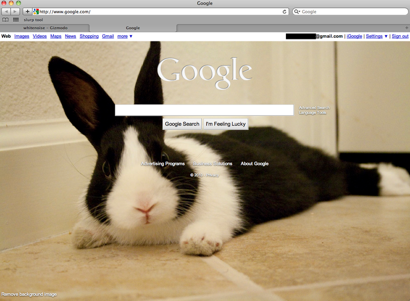 Illustration for article titled Google Homepage Now Allows Custom Backgrounds
