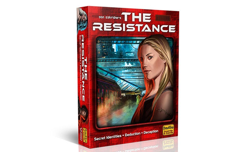Illustration for article titled The Resistance Is Still One Of The Best Card Games Out There