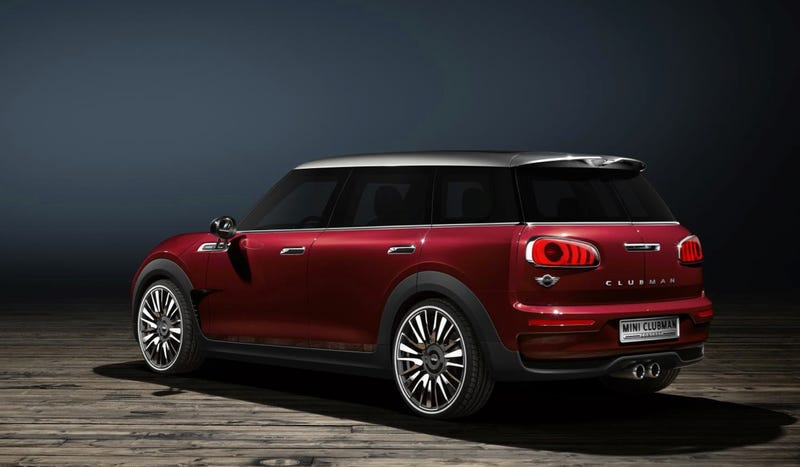 The Mini Clubman Concept Has Six Doors For Your Convenience