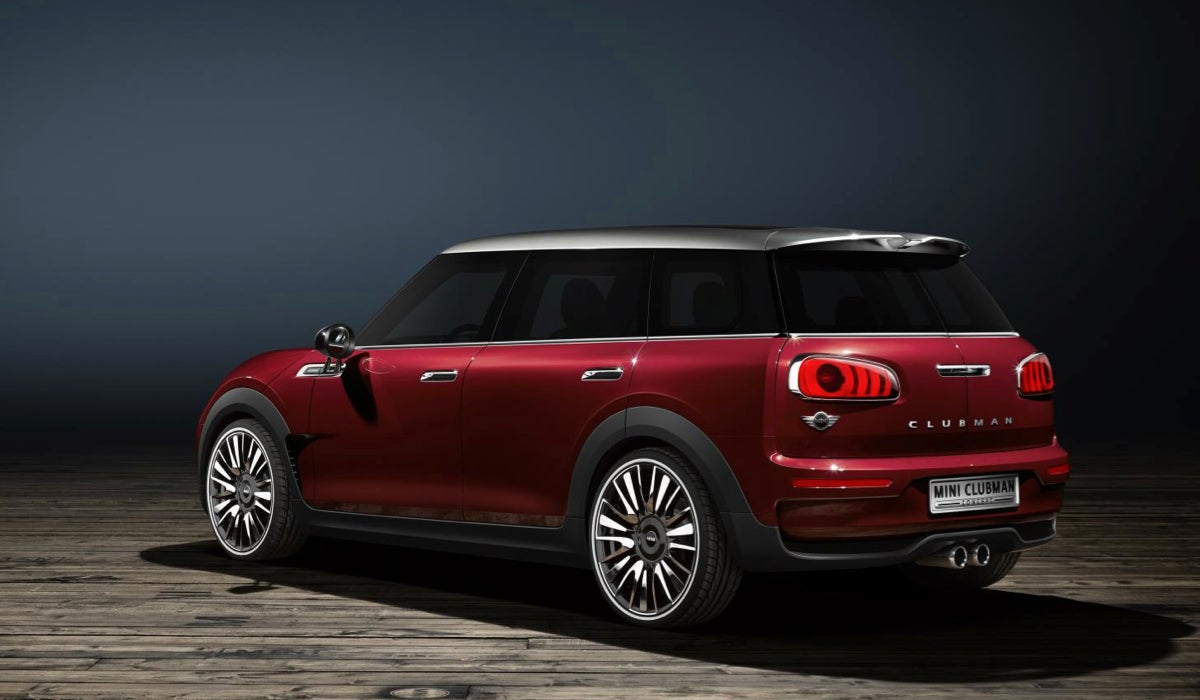 Back when Mini first launched the Clubman we heard it would have five doors. Unfortunately they put two in the back for the cargo area and a relatively ... & The Mini Clubman Concept Has Six Doors For Your Convenience