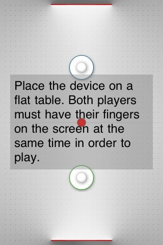 Illustration for article titled Air Hockey for iPhone Sadly Doesn't Use Air