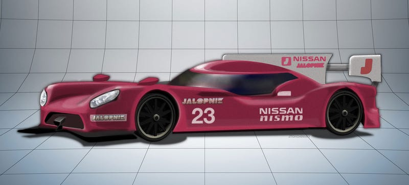 Illustration for article titled Nissan GT-R NISMO LMP1 Rumored To Have 2000 (Two Thousand) Horsepower