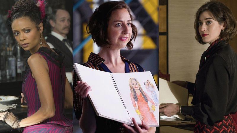 Thandie Newton (Image: HBO), Kristen Schaal (Image: Fox), Lizzy Caplan (Image: Showtime)