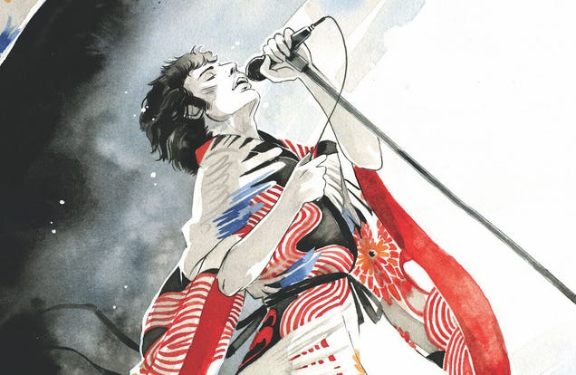 Z2 Comics is Turning the Life of Freddie Mercury in to a Graphic Novel