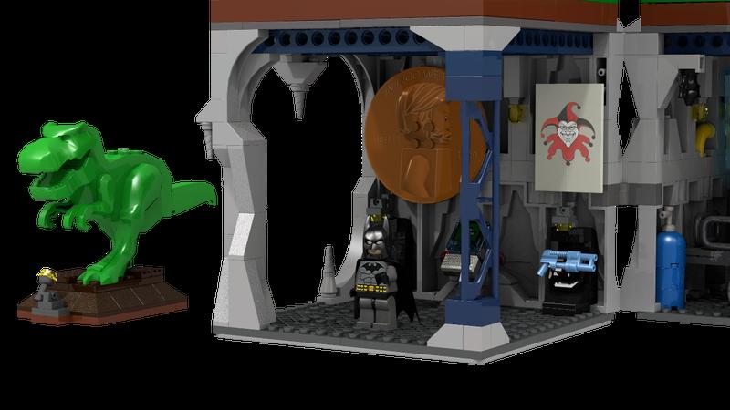 Illustration for article titled We Can Make This Lego Batman Set Happen