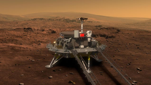 China's 'Zhurong' Rover Is About to Land on Mars