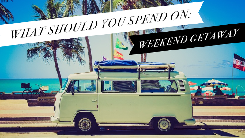 Illustration for article titled Break Your Weekend Monotony, Not the Bank: This is What You Should Spend on a Weekend Getaway