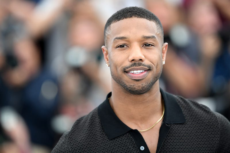 Michael B. Jordan at the 71st annual Cannes Film Festival at Palais des Festivals on May 12, 2018, in Cannes, France