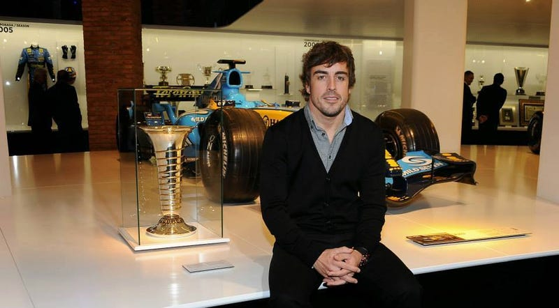 Illustration for article titled Fernando Alonso's Collection