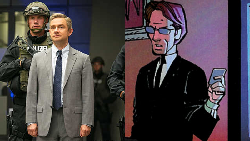Illustration for article titled Martin Freeman's Character in Captain America: Civil War Has Been Confirmed