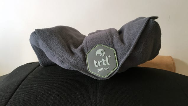 TheTrtl Pillow Is a Perfect Travel Pillow for People Who Need Neck Support