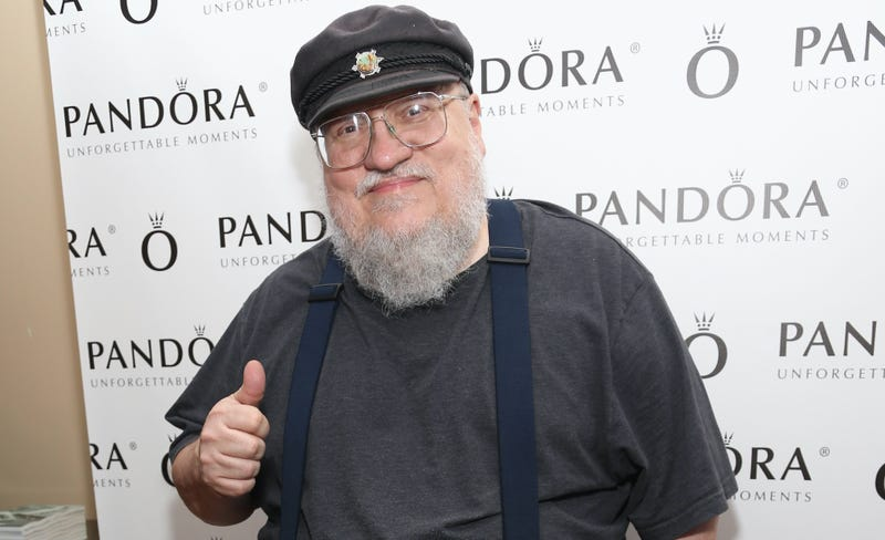 Illustration for article titled GRRM Has No Pages