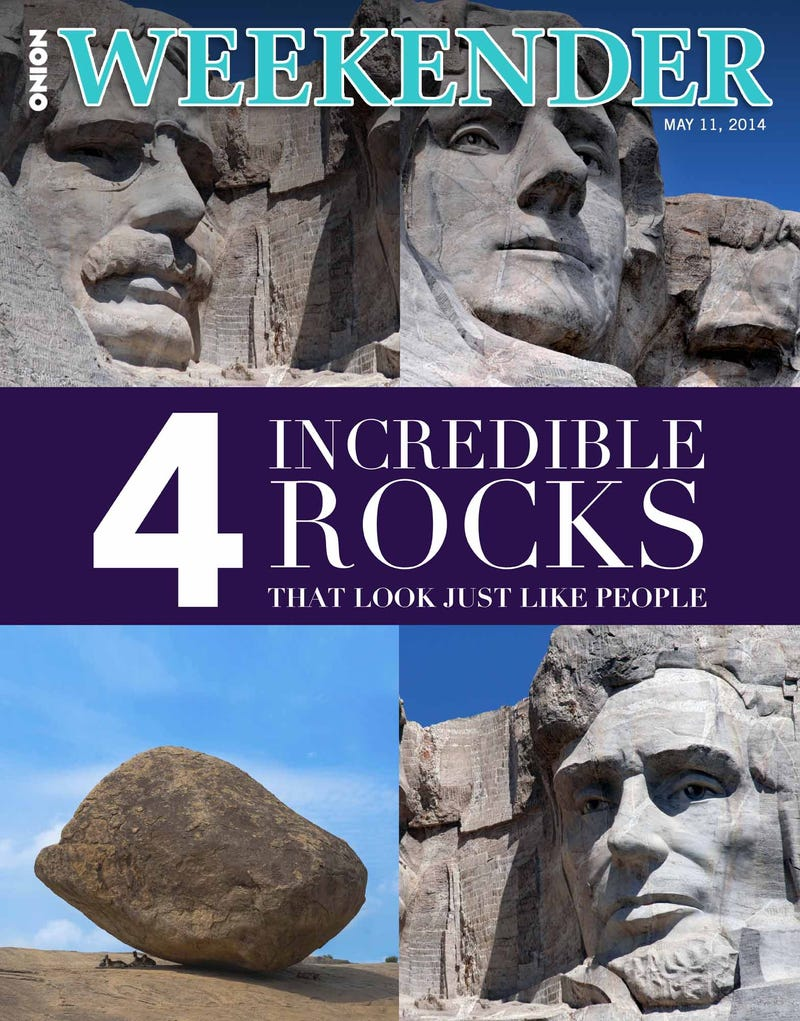 Illustration for article titled 4 Incredible Rocks That Look Just Like People