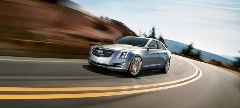 Illustration for article titled The 2015 Cadillac ATS Sedan Dumps The Wreath, Adds Torque