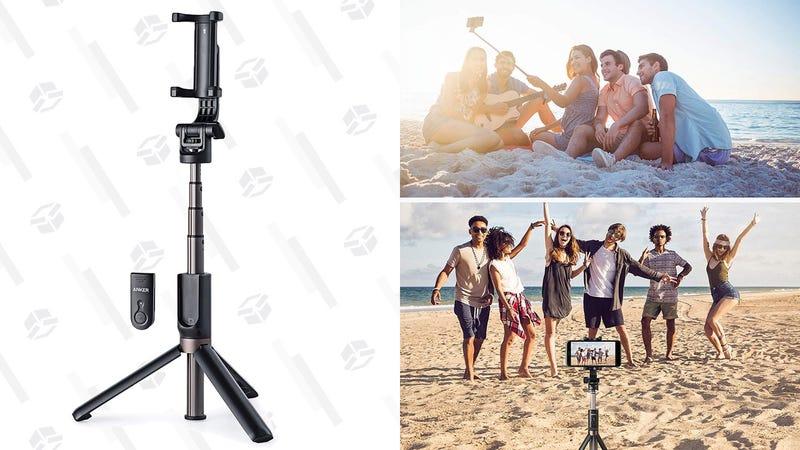 Trípode/palo de selfie Anker   $22   Amazon   Usa el código RFLTDNZZGráfico: Shep McAllister