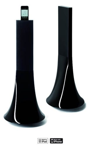 Illustration for article titled Phillipe Starck Zikmu Speakers Belong in the Living Rooms of Those With Inscrutable Accents