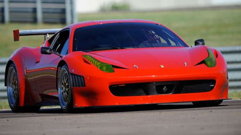 Illustration for article titled Ferrari 458 Italia Grand Am gives better protection for crash-o-riffic American racing