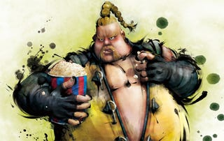 Illustration for article titled Say A Proper Hello To Street Fighter IV's Rufus