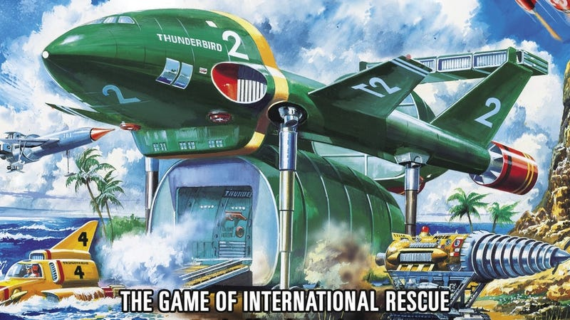 Illustration for article titled The Thunderbirds Cooperative Board Game is Go!