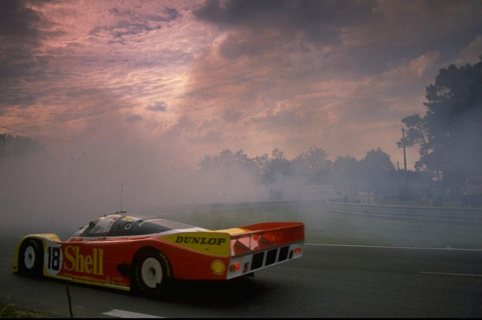 Porsche 956 962 Three Warped Minutes In Derek Bell S Mach