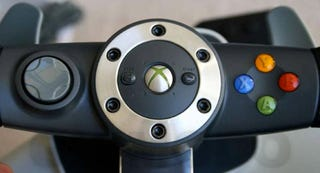Illustration for article titled Xbox 360 Wireless Wheel Hands-On (Verdict: Driving 2.0)