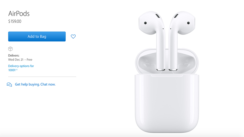 Illustration for article titled Apple AirPods Are Finally Shipping After Delay