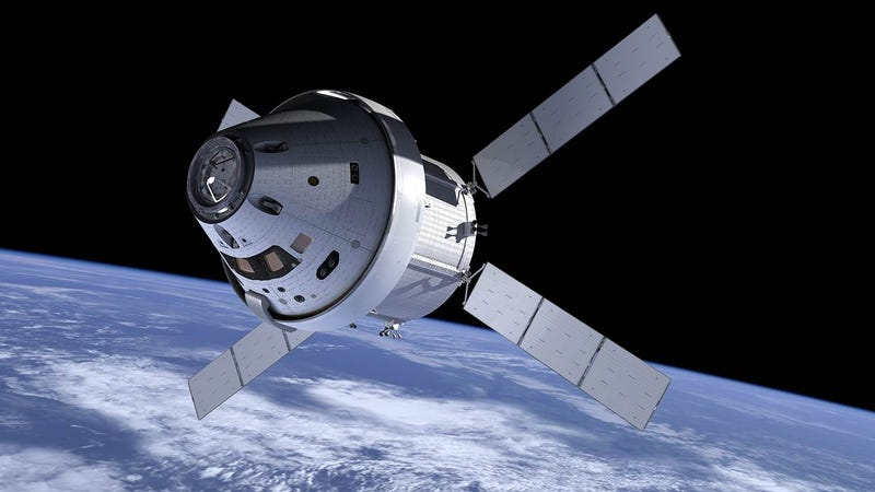 Illustration for article titled NASA's Orion May Not Launch With a Crew Until 2023