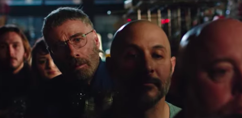 Illustration for article titled John Travolta is a mulleted fanboy named Moose in the trailer for this loony Fred Durst thriller