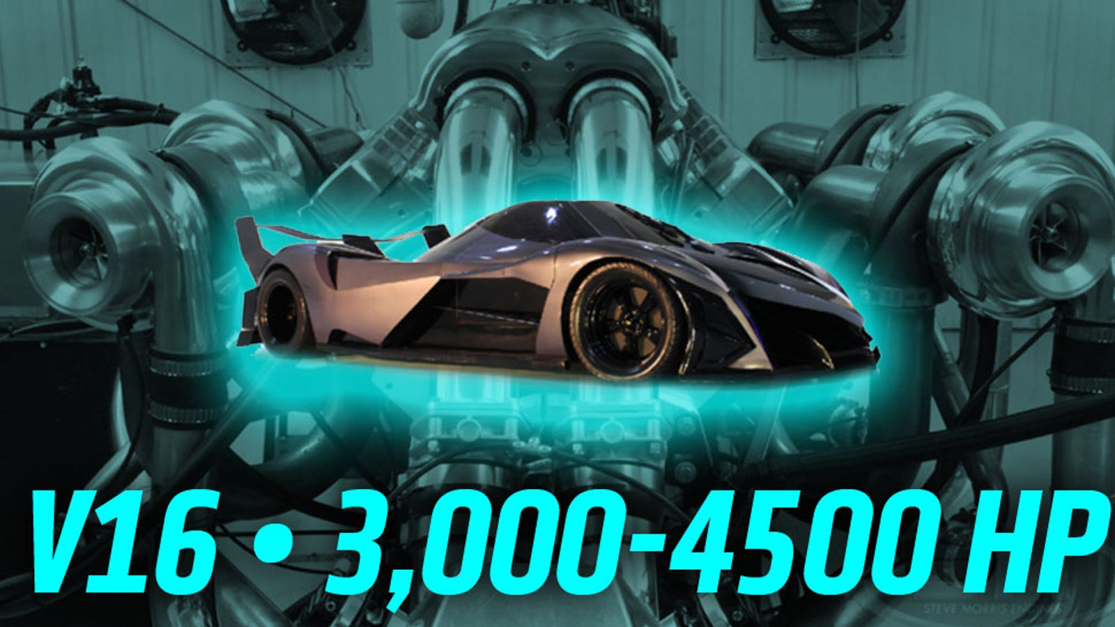 The Devel Sixteen's Insane 3,000+ HP V16 Engine Seems To ...