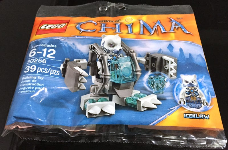 Illustration for article titled Chima Iceklaw set spotted in the wild
