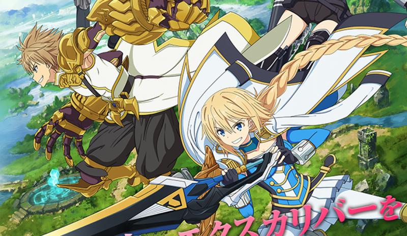 Illustration for article titled Enjoy the newes promo ofHan-Gyaku-Sei Million Arthur´s anime