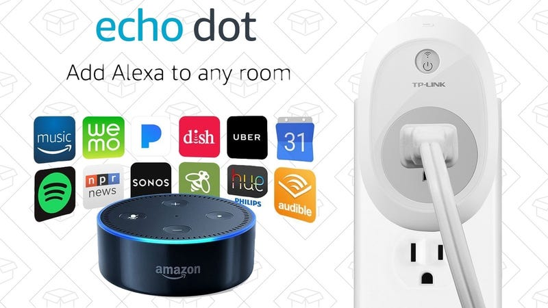 $5 TP-Link Smart Plug with Purchase of Echo Device | Starts at $35 | Amazon