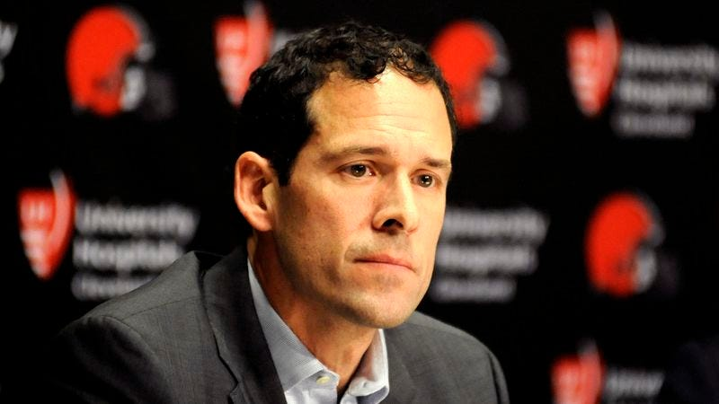 Illustration for article titled Browns Front Office Worried They Completely Botched NFL Combine Interview