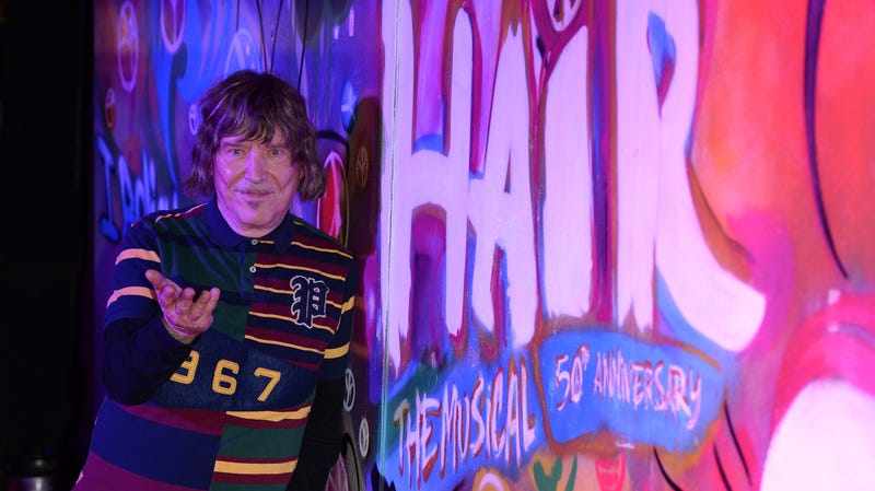 Hair co-author James Rado at the musical's 50th anniversary celebration
