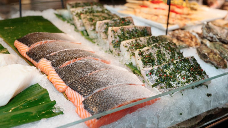 Illustration for article titled Genetically modified salmon could arrive in U.S. restaurants by next year
