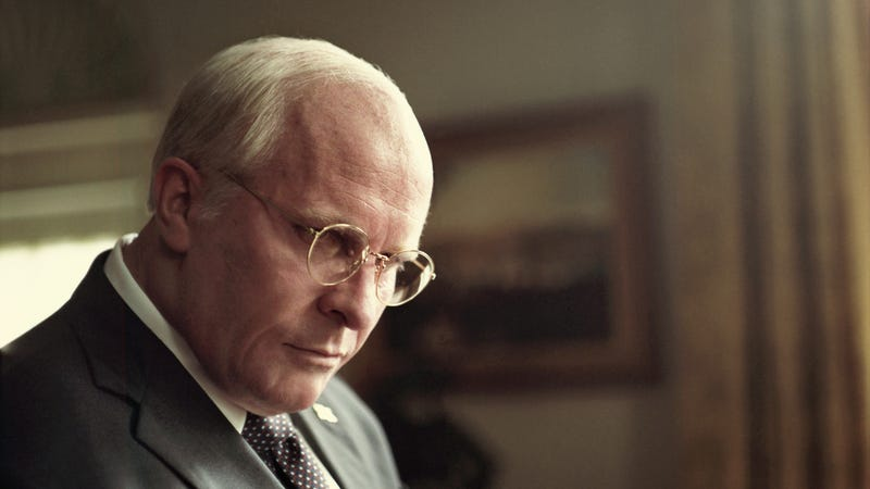 Illustration for article titled Here's your first, terrifying look at Christian Bale as Dick Cheney