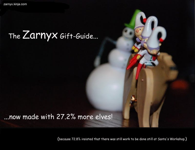 Illustration for article titled Zarnyx's Gift Guide 2013