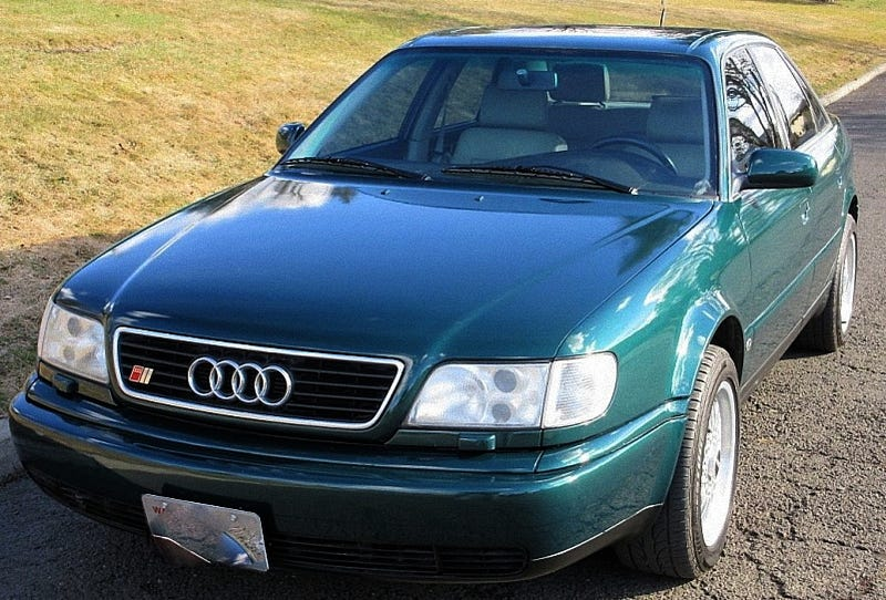 Illustration for article titled For $8,400, Does This 1995 Audi S6 Quattro Tempt?
