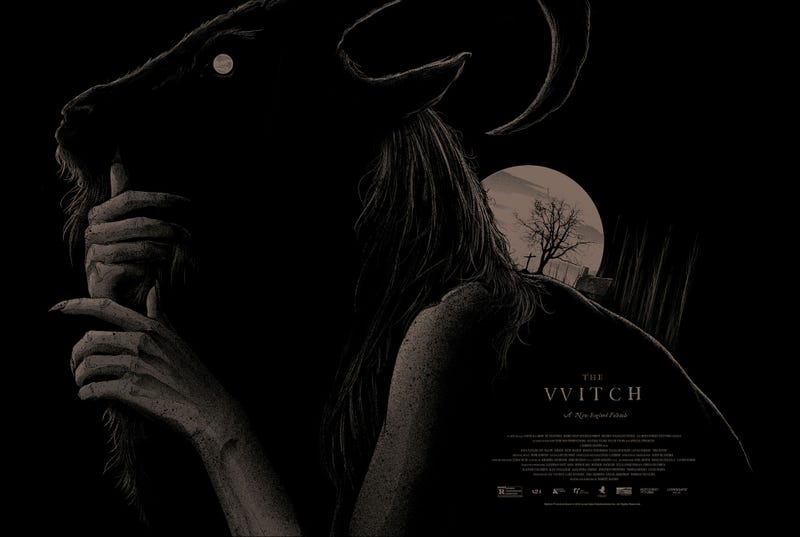 Illustration for article titled These Posters For The Witch Will Haunt Your Walls Forever