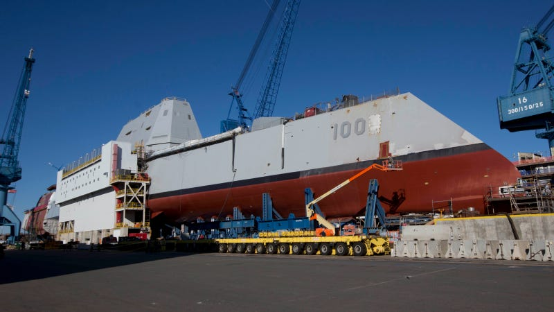 The US Navy's New Largest Destroyer Is This Intense Looking Beast