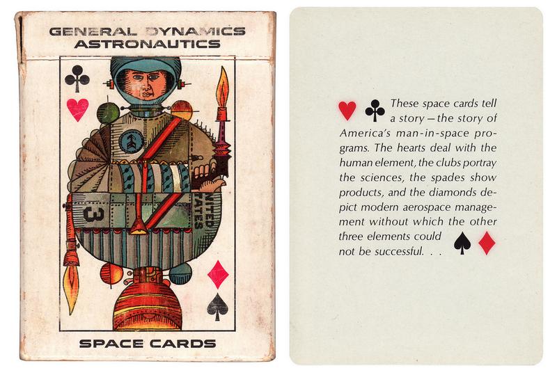 Illustration for article titled Csodálatos űrkártyák a 60-as évekből