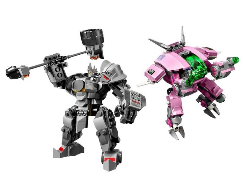 Illustration for article titled Here's All The Overwatch LEGO Sets
