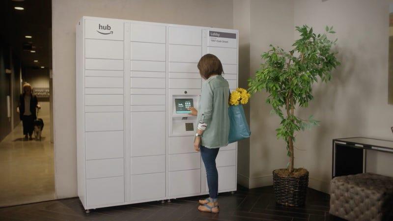 Illustration for article titled Amazon quiere cambiar los buzones del portal por este cómodo sistema electrónico para recibir paquetes