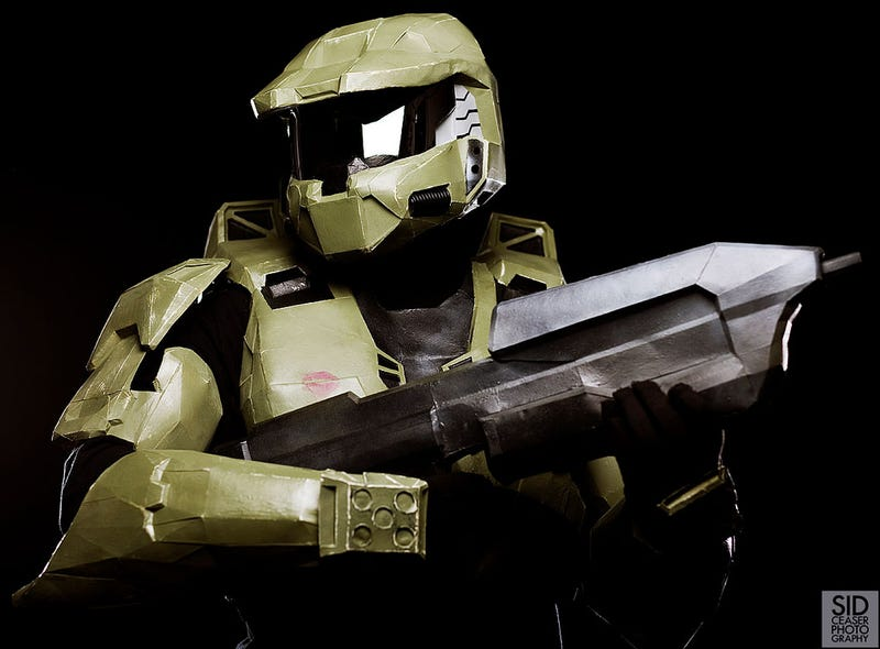 how to build a master chief suit