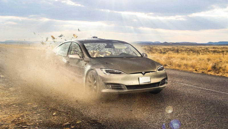 Ilration For Article Led Tesla Posts Mive First Quarter Loss After Self Driving Car Absconds