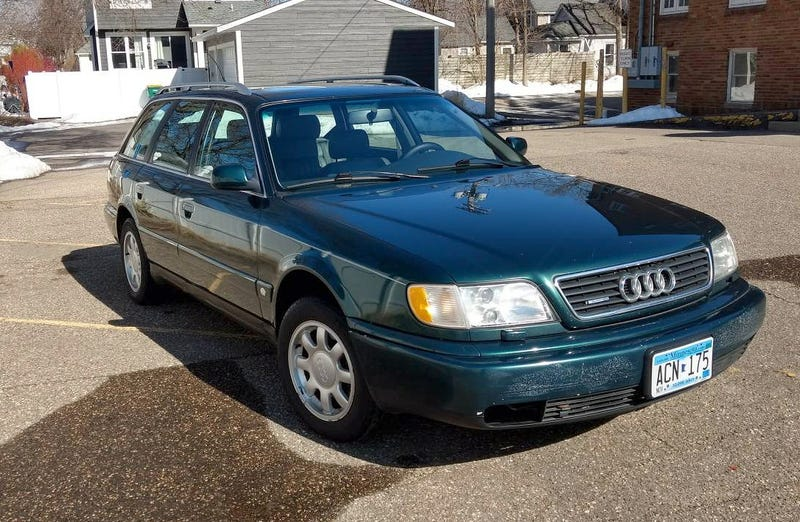 For 2800 Could This 1996 Audi A6 Avant Quattro Be Your Worry Free