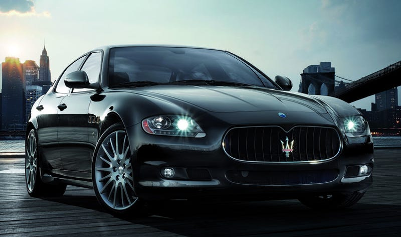 Illustration for article titled Maserati Quattroporte Sport GT S: A Speedier, Sportier Four-Door