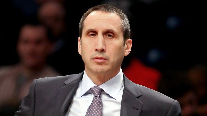 Illustration for article titled Bored David Blatt Just Drawing Up Plays For Fun During Cavs Game